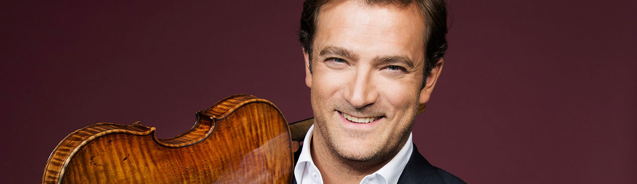Renaud Capuçon's official website