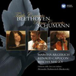 Martha Argerich, Renaud Capuçon, Mischa Maisky, Orchestra della Svizzera Italiana, Alexandre Rabinovitch-Barakovsky - 2004