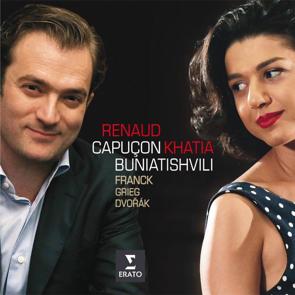Franck, Grieg, Dvorak Violin Sonatas