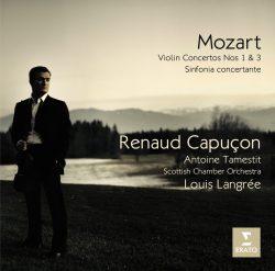 Renaud Capuçon, Louis Langrée, Scottish Chamber Orchestra, Antoine Tamestit - 2009