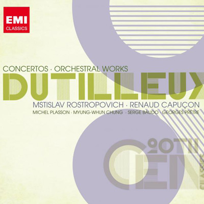 Renaud Capuçon, Mstislav Rostropovich, Various Artists - 2008